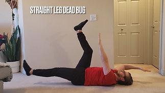 Straight Leg Dead Bug