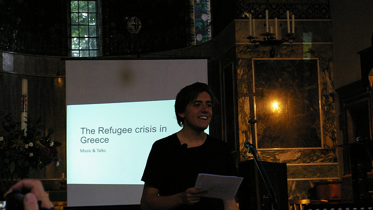 The Refugee Crisis in Greece: Music & Talks