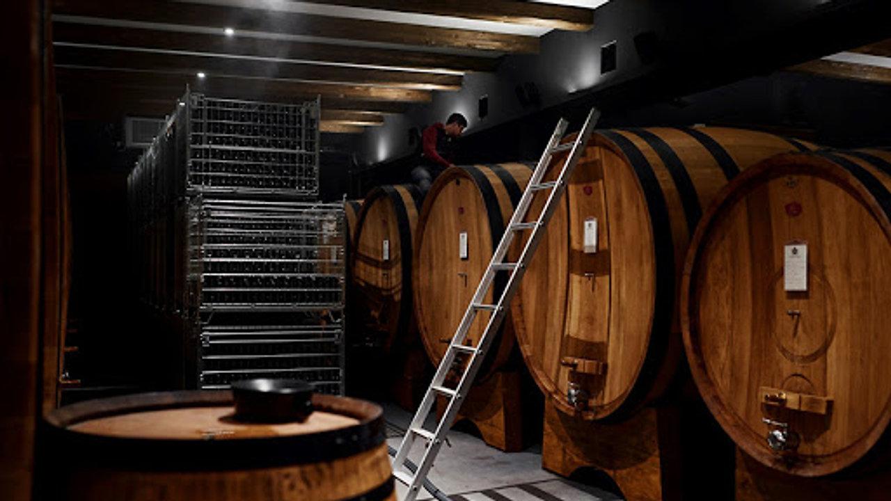 Lavori in cantina - Cellar works