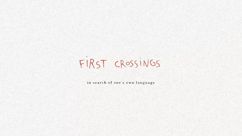 First Crossings TRAILER
