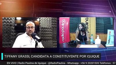 Entrevista Radio Paulina - Tiffany Grassi
