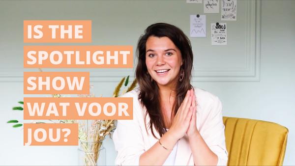 Is The Spotlight Show wat voor jou?