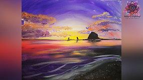 """Haystack Rock"" Paint & Stream"