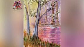 """""""Serene Spring"""" Paint & Stream"""