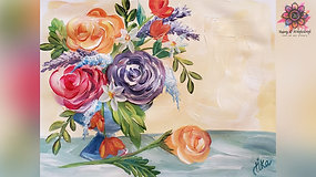 """Flowers For Mom"" Paint & Stream"