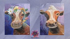 """Cow"" Paint & Stream"