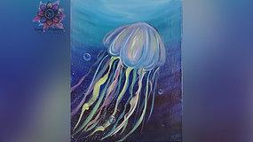 """""""Jellyfish"""" Paint & Stream"""