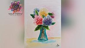 """Summer Flowers"" Paint & Stream"