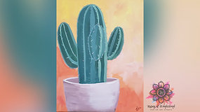 """Pretty Fly for a Cacti"" Paint & Stream"