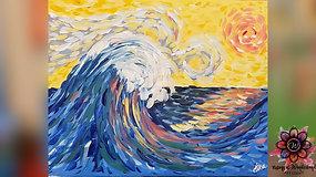 """Summer Swell"" Paint & Stream"