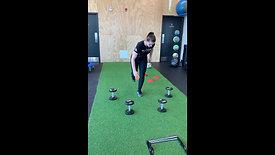 Exercices proprioception des membres inférieurs - Soccer