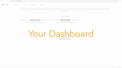 Your Dashboard