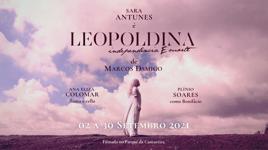 VERSÃO EM LIBRAS DE LEOPOLDINA, INDEPENDÊNCIA E MORTE