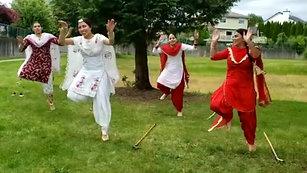 Punjab Dancing ਹੈਪੀ ਕਨੇਡਾ ਡੇਅ