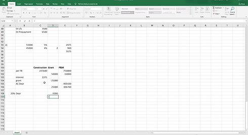 Single Entity Accounts 2 (OCI)