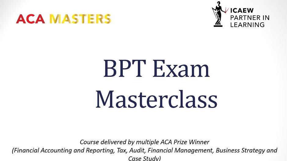 BPT Exam Masterclasses