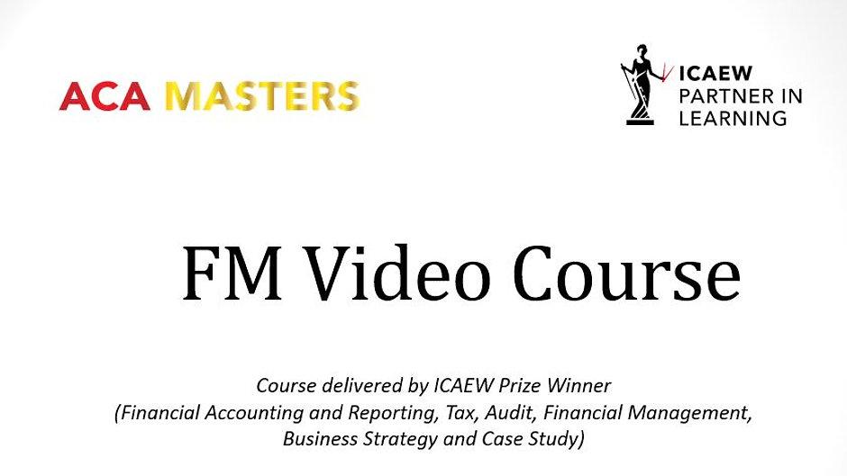 FM Video Course