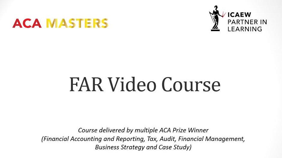FAR Video Course
