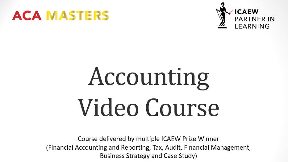 Accounting Video Course