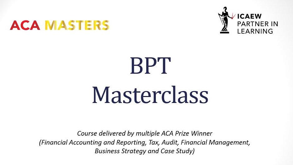 BPT Video Course