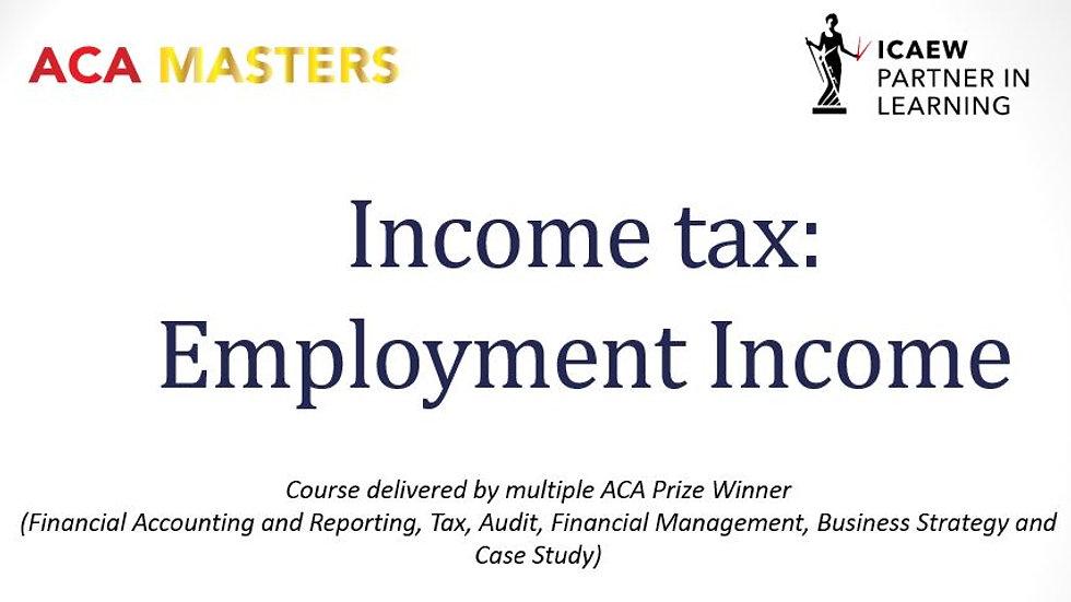TC Employment taxes 2020