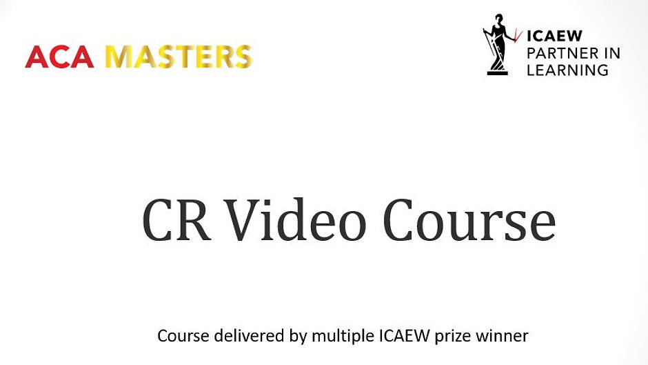 CR - Video Course