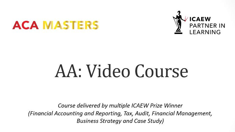 AA Video Course
