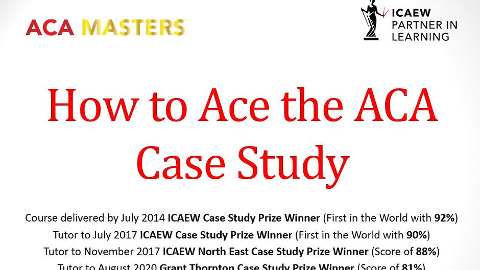 Case Study Video Course