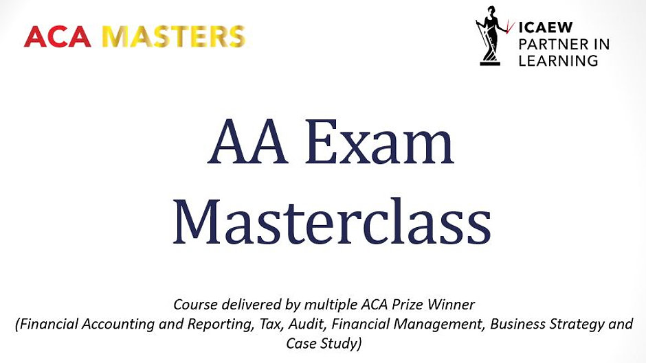 AA Exam Masterclasses