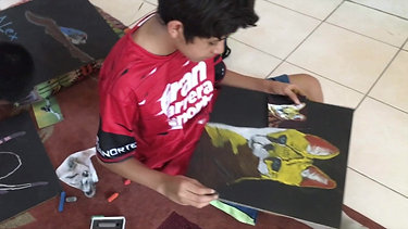 Taller de Dibujo con Gis Pastel para Niños.