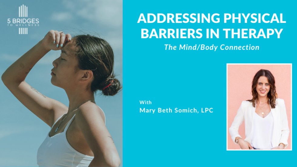 Addressing Physical Barriers in Therapy Workshop