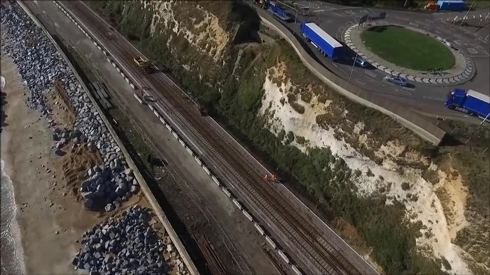 Restoration of Dover Sea Wall