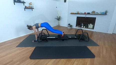 Lagree Fitness with Microformer Core on the Floor November 25 2020