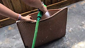 How to wash BlackHole Litter Mat