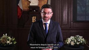 VOEUX MAIRIE DE NOISIEL