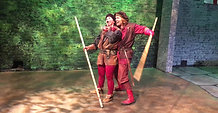 Will Scarlet & Alana Dale QuarterStaff