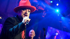 Boy George performs top hits at Angel Ball