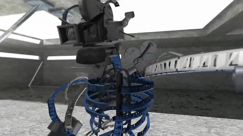 Lazer vs Reel robots 1 C