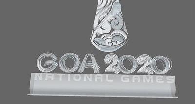 Glass 3D logo