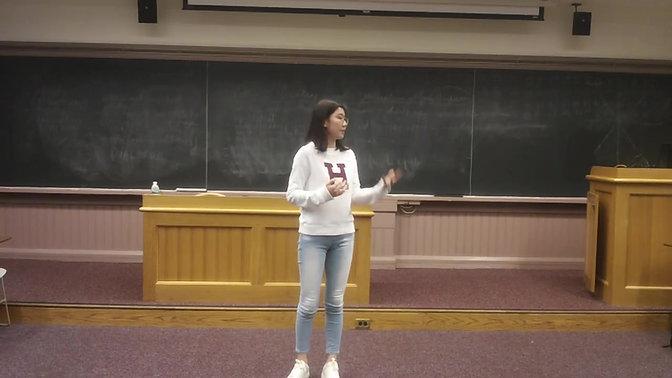 My Dream   Harvard mini-speech