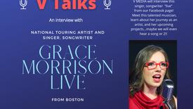V TALKS with GRACE MORRISON