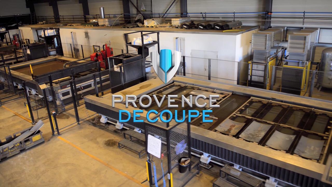Provence Découpe film institutionnel