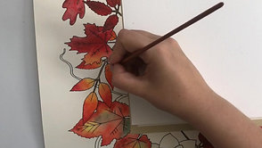 "Painting a custom version of ""Autumn Splendor"""