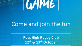 Everyone's Game at Ross High R.F.C
