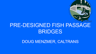 Pre-Designed Fish Passage Bridges