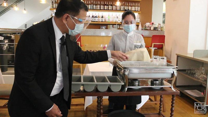 Sir Mel_FNB__Dining Room Preparation
