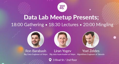 Yotpo Engineering #1 - Data Meetup