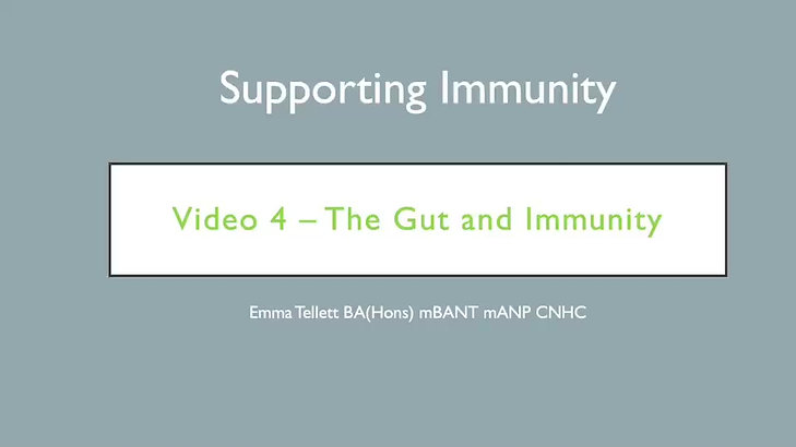 gut and immune