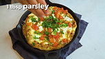 Frittata with Artichokes and Tomatoes