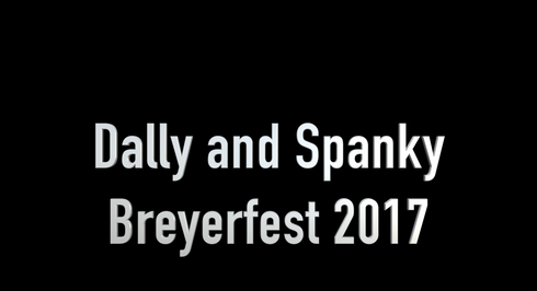 Breyerfest 2017- Dally and Spanky, with Jet